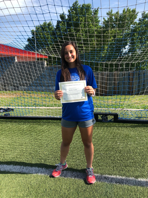Congratulations Keeley Combs Recipient of the First Annual Daniel DiSylvester Memorial Soccer Scholarship